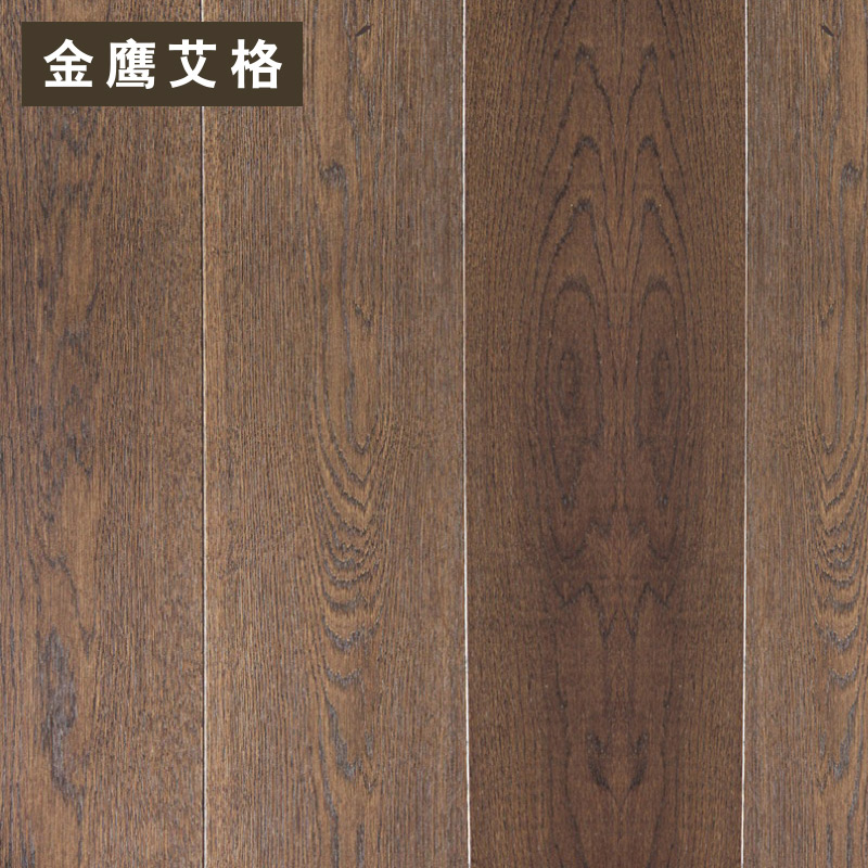 Golden eagle iger three solid wood flooring parquet flooring 9932 geothermal floor limit
