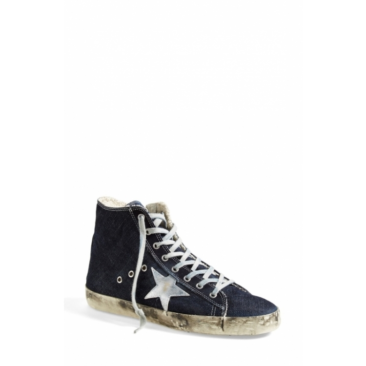 Golden goose Q01889396 soled shoes women shoes blue