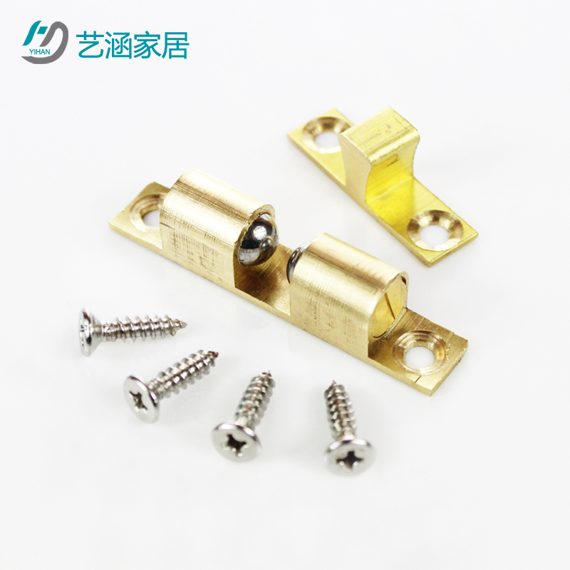 Golden trumpet thick brass bronze doors suck suck door touch touch touch beads beads beads magnetic touch touch door beads to send stainless steel screws