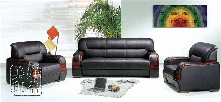 Good benefits us special office sofa stylish minimalist office furniture office reception parlor sofa table combination