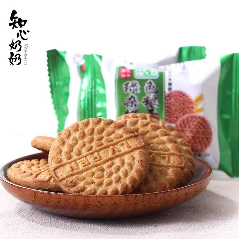 [Grandmother] xyitol intimate green cereals biscuits zero food stores xylitol sugar diabetes who