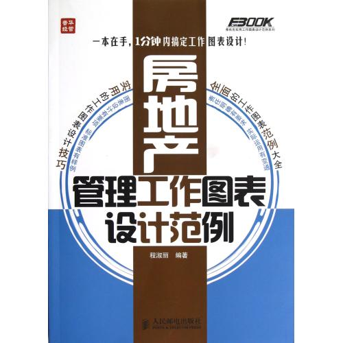 Graphic design examples of real estate management/fu buke practical examples of graphic design work series cheng shuli genuine Economic books
