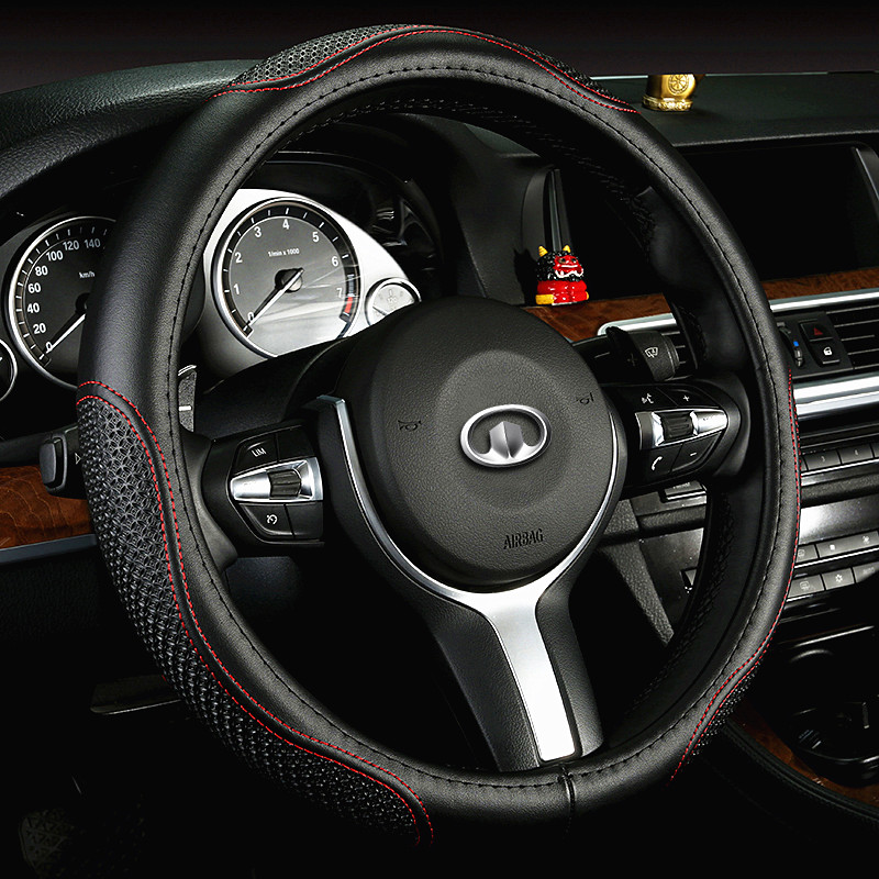Great wall c30/m4/c50/wingle 5 wingle 6/m2 dazzling v80/c20r leather car steering wheel cover Steering wheel cover to cover