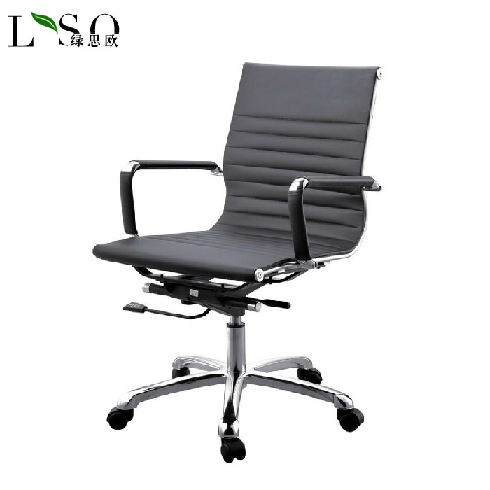 Green siou office furniture office chair office chair staff chair fashion casual staff chair computer chair swivel leather chair