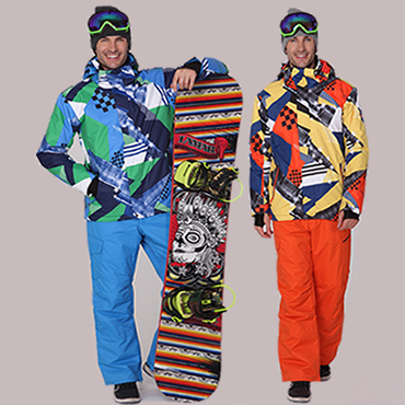 4b68b15a72 Get Quotations · Gsou snow authentic ski wear suits odd and even plate ski  pants waterproof windproof breathable male