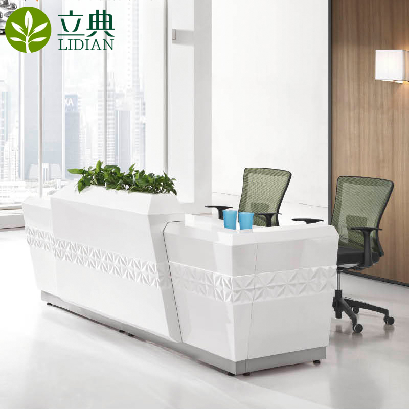 Guangzhou li code modern office furniture reception desk reception welcome reception desk cashier office reception desk