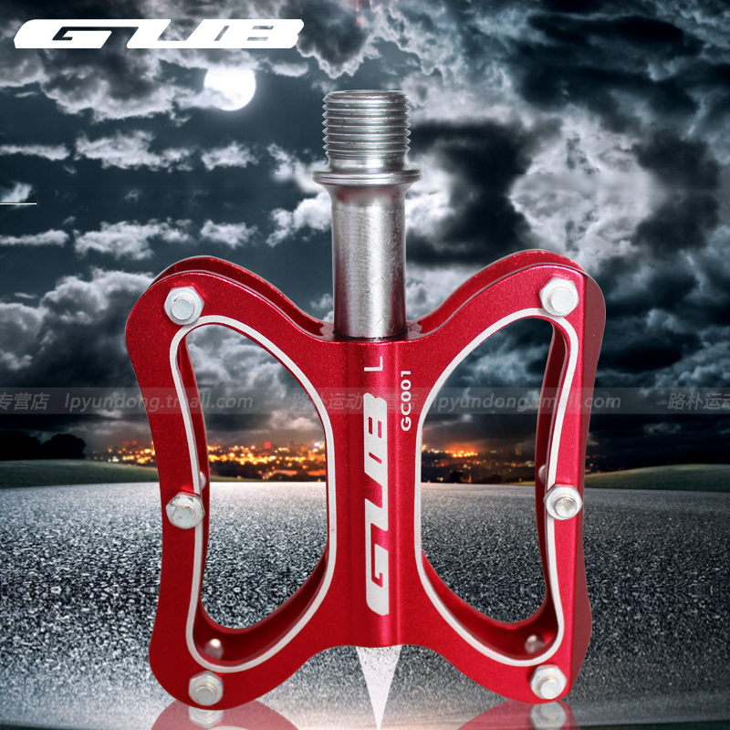 Gub GC-001 folding mountain road bike pedal peilin bearing plate/aluminum alloy pedal bicycle accessories