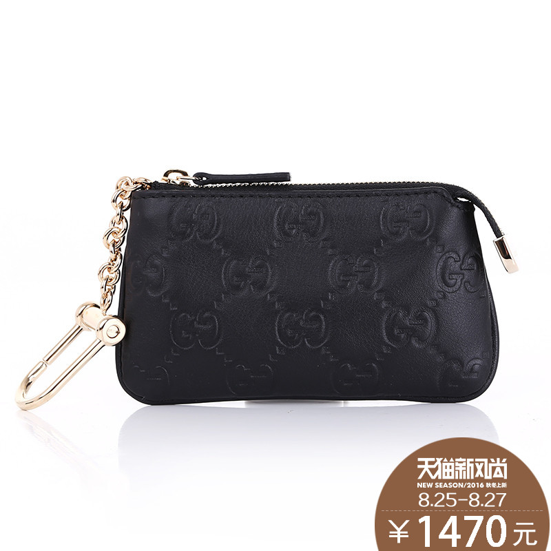 Gucci/gucci/gucci/gucci authentic handbags ladies leather clutch purse fashion chain packet