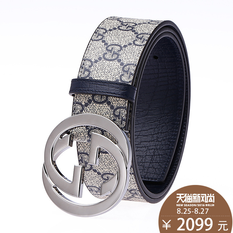 f1996165d Buy Gucci/gucci belt 16 new glass pearls dlxat cecectomized 5cm wide leather  belt 431434 1088 in Cheap Price on Alibaba.com