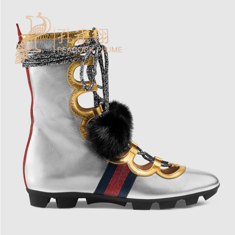 d2875346d2f Buy Gucci gucci shoes high top sneakers 16 new mink decorative silver  430652 B8VP0 8167 in Cheap Price on Alibaba.com