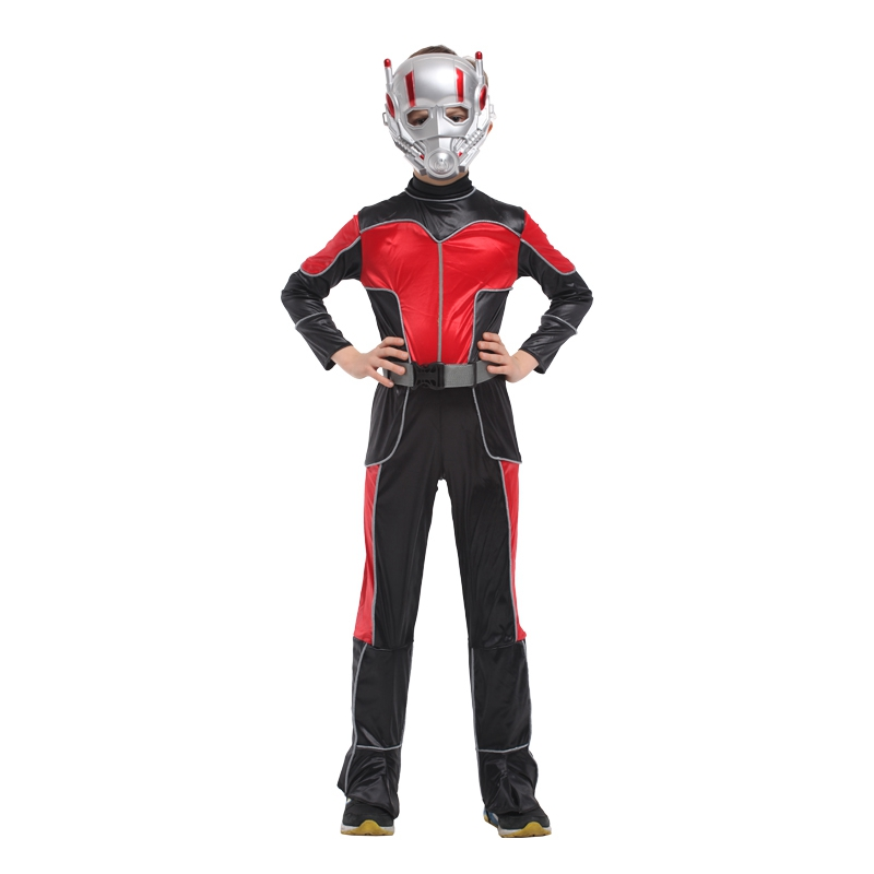 Halloween children's performing clothing ant man hero hero costume cos anime costume boys performing service