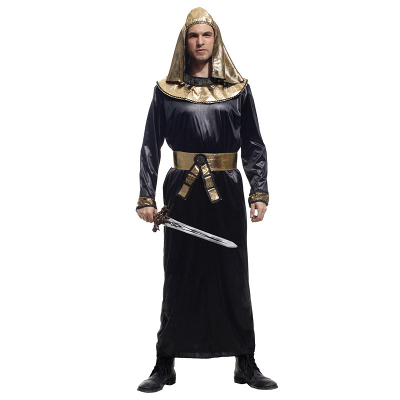 Halloween costume masquerade costume party dress clothes adult male adult egyptian priest costume cos