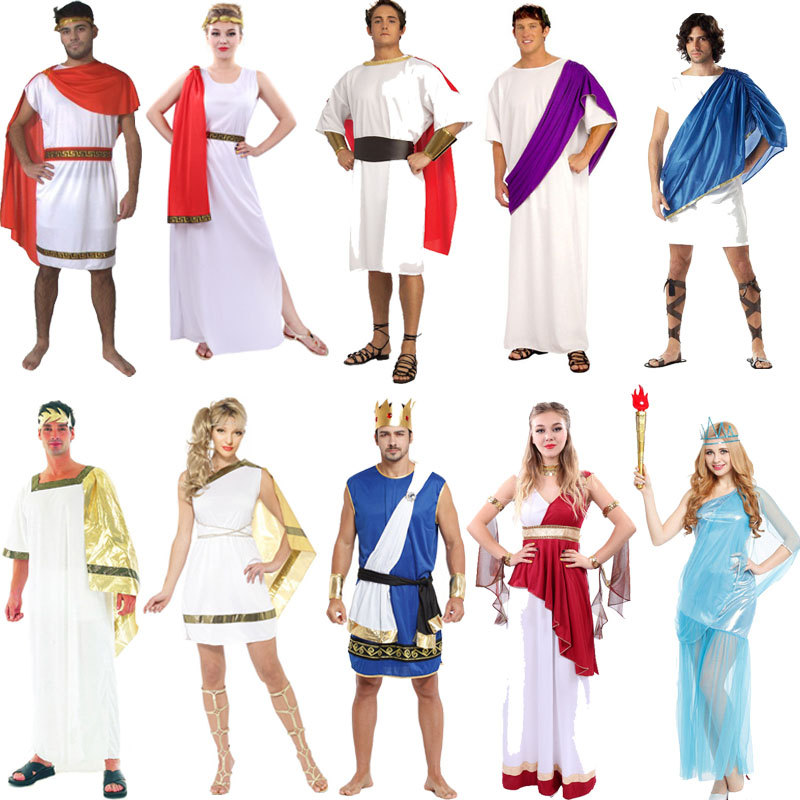 Get Quotations · Halloween costume party cos roman warrior costume adult  children clothing for men and women members of