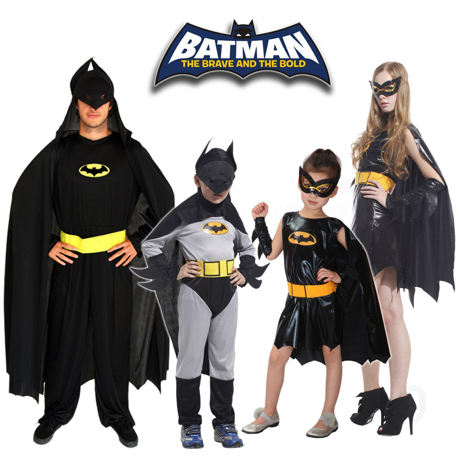 Halloween masquerade costume cos performances batman batman tights adult children