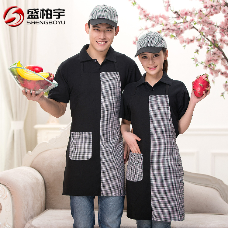 Halter apron chef hotel cafe restaurant waiter aprons work aprons chef aprons for men and women