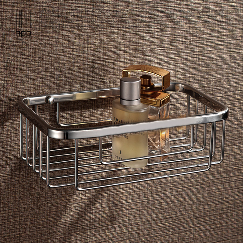 Get Quotations · Han sent a full copper shower bathroom shower bathroom single wall shelf wall non stainless steel Luxury - Popular glass shower shelf Style