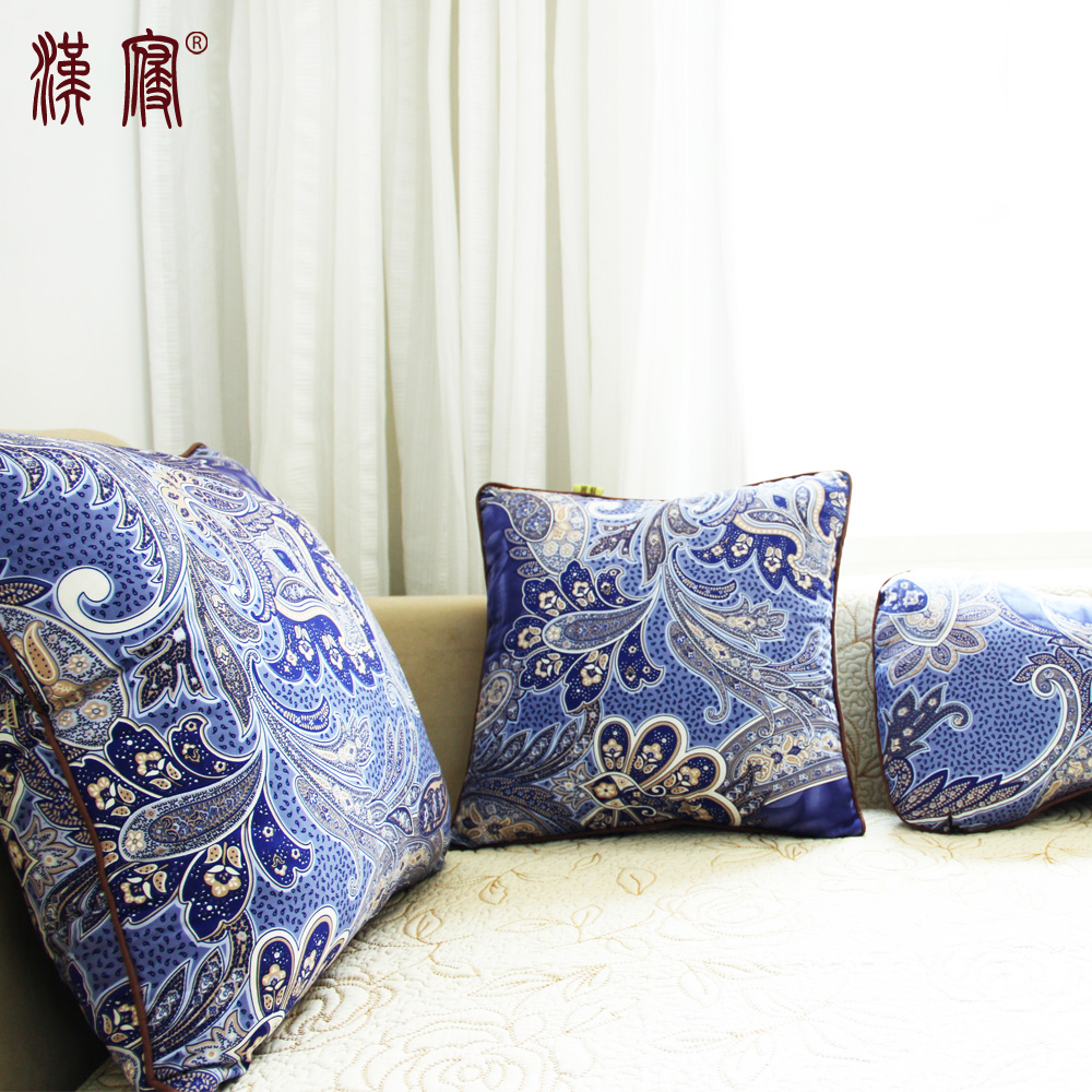 Han sleep sofa cushion cotton pillow cover without the core custom headboard cushion backrest cushion covers office car pillow cushion custom