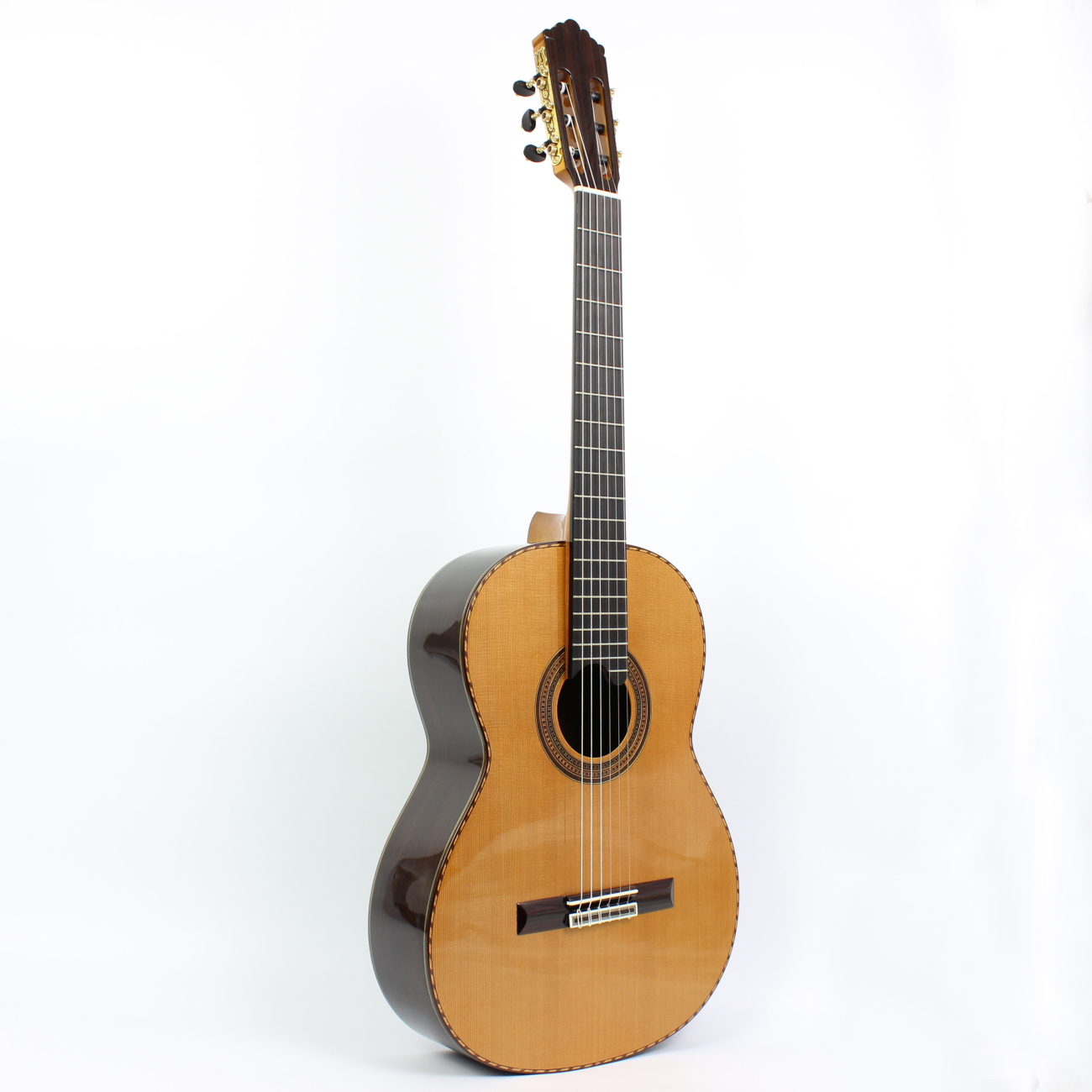 [Handmade custom double panel flagship store] santos song toos songtoos single classical guitar
