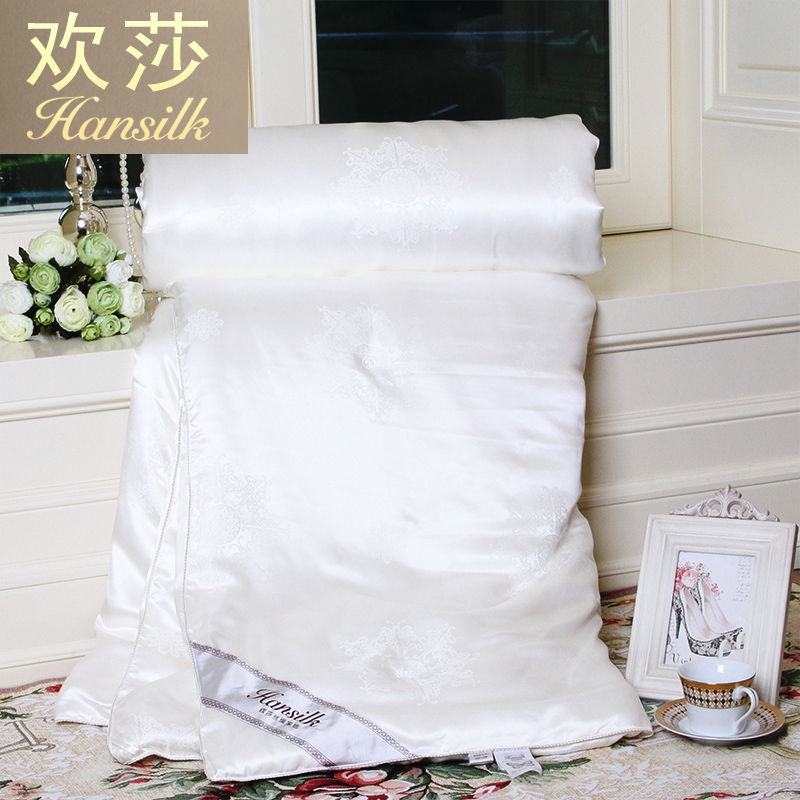Hansilk/huan lufthansa royal pure silk is silk quilt silk spring is winter is picture is