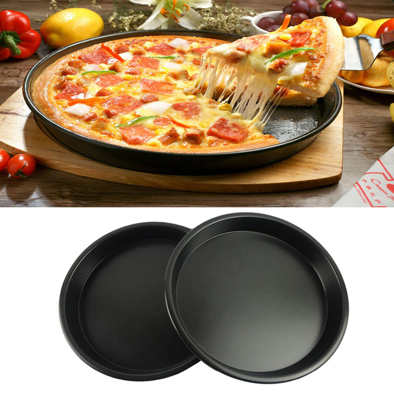 Hard disk nonstick nonstick shallow dish pizza pan pizza deep dish pizza 5-10 inch baking pan bakeware