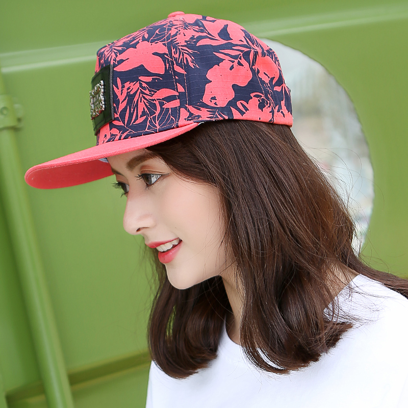 Hat female summer influx of hip-hop hat flat brimmed hat hip-hop hip-hop hat cap couple of days in spring and korean fashion wild cool ball cap