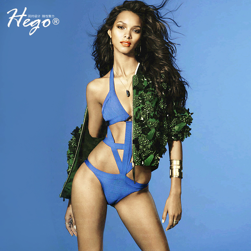 06c1a75d2e Get Quotations · Hego europe and the new sexy halter siamese cloth bandage bikini  swimsuit beach seaside resort h922