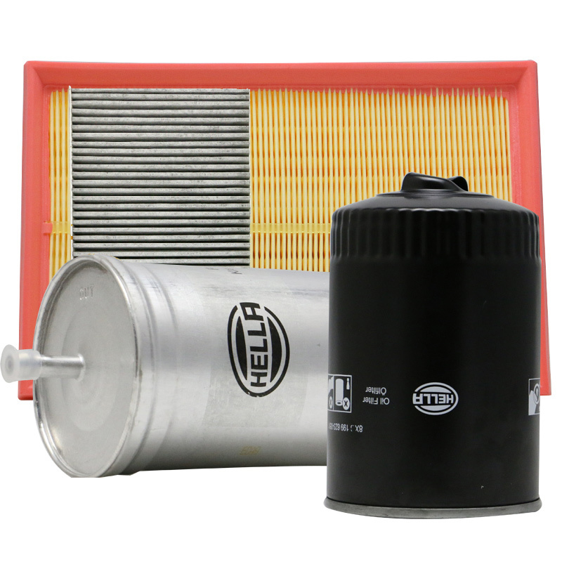 Hella (hella) oil/oil/air conditioning/air filter air filter four filter combination/suit