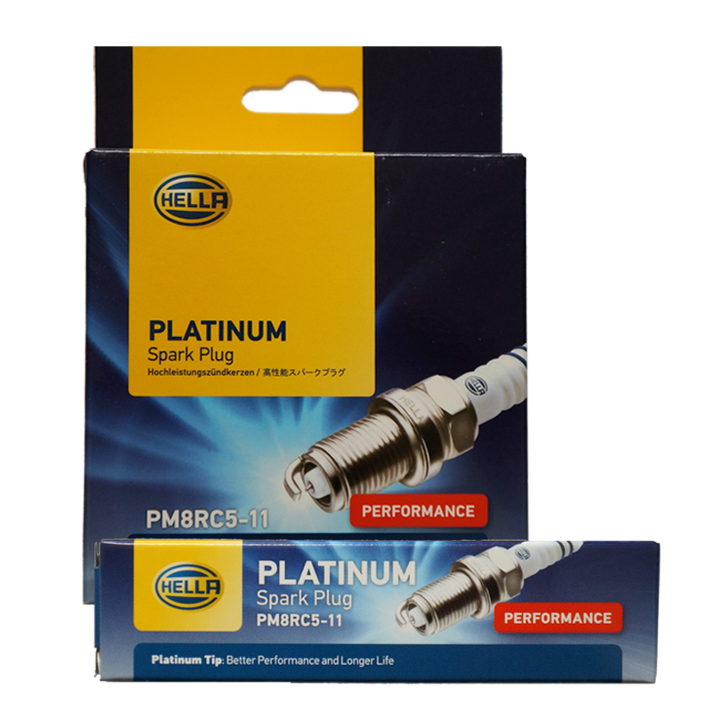 Hella (hella) platinum spark plugs honda accord 7 generation civic bmw PM8RC5-11 4 installed