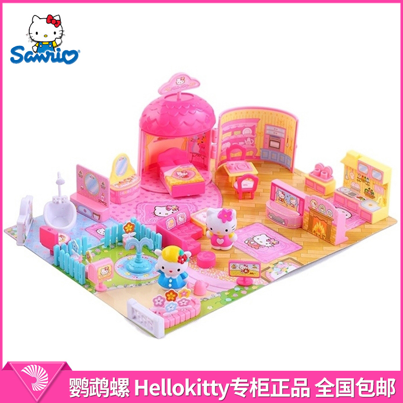 Hello kitty hello kitty corner story my family kt-50021 play house toys for children