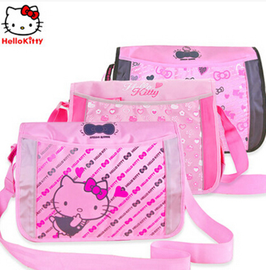 0e5419d5d4 Get Quotations · Hello kitty hello kitty girl students bag messenger bag  shoulder bag leisure bag messenger bag
