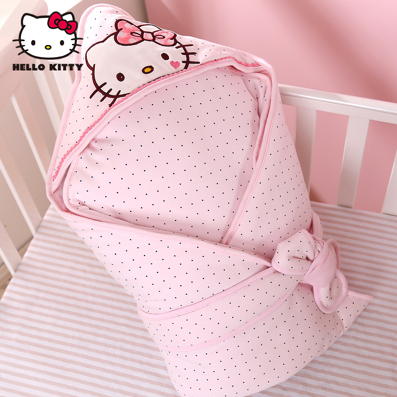 Hello kitty hello kitty newborn baby hold was thick winter clothes to go out of cotton cloth was holding the baby warm autumn and winter hold is