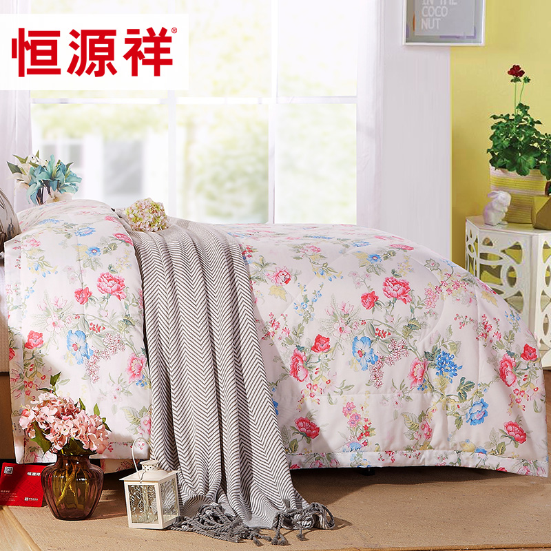 Heng yuan xiang textile cotton summer was cooler cotton summer thin quilt single or double air conditioning is the core bedding