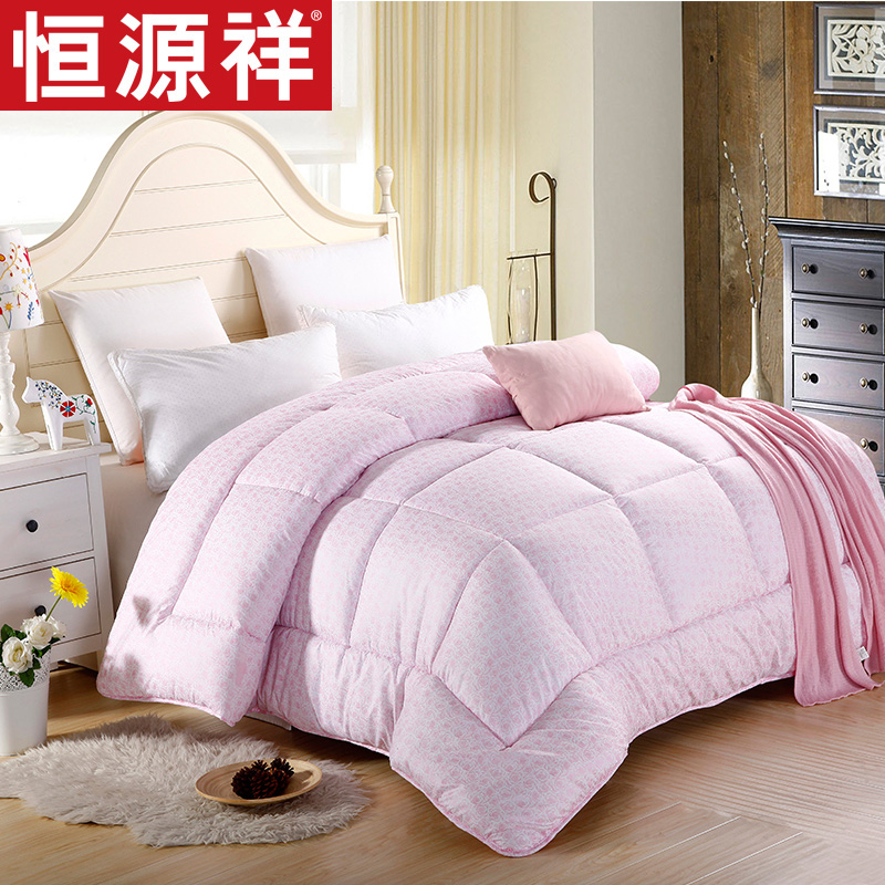 Heng yuan xiang textile is thick warm seasons quilt single double warm winter bedding is free shipping