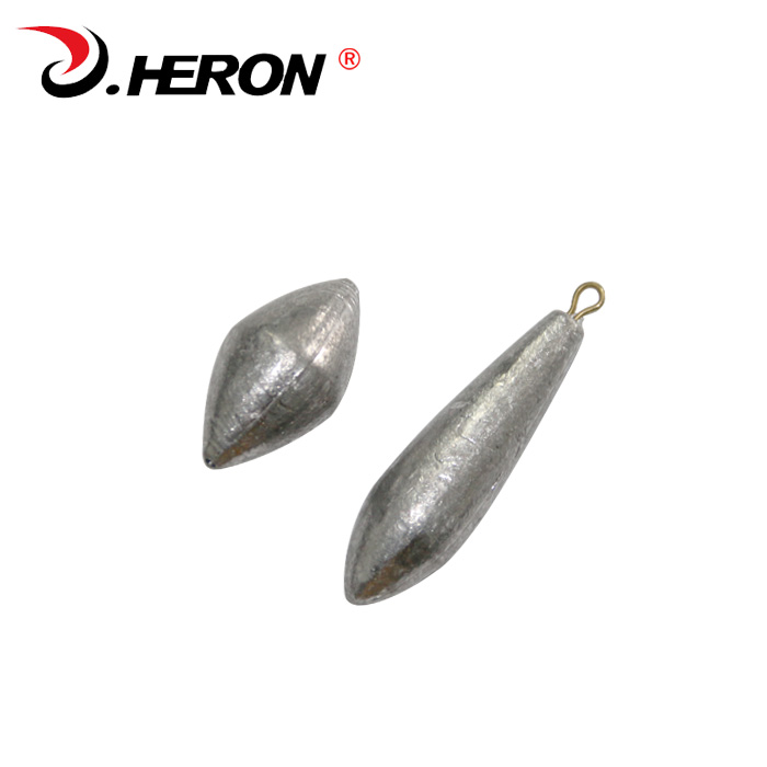 Heron through droplets lead sinkers sea fishing pole with a lead mound 30 grams 40 grams 50 grams 60 grams 80 grams