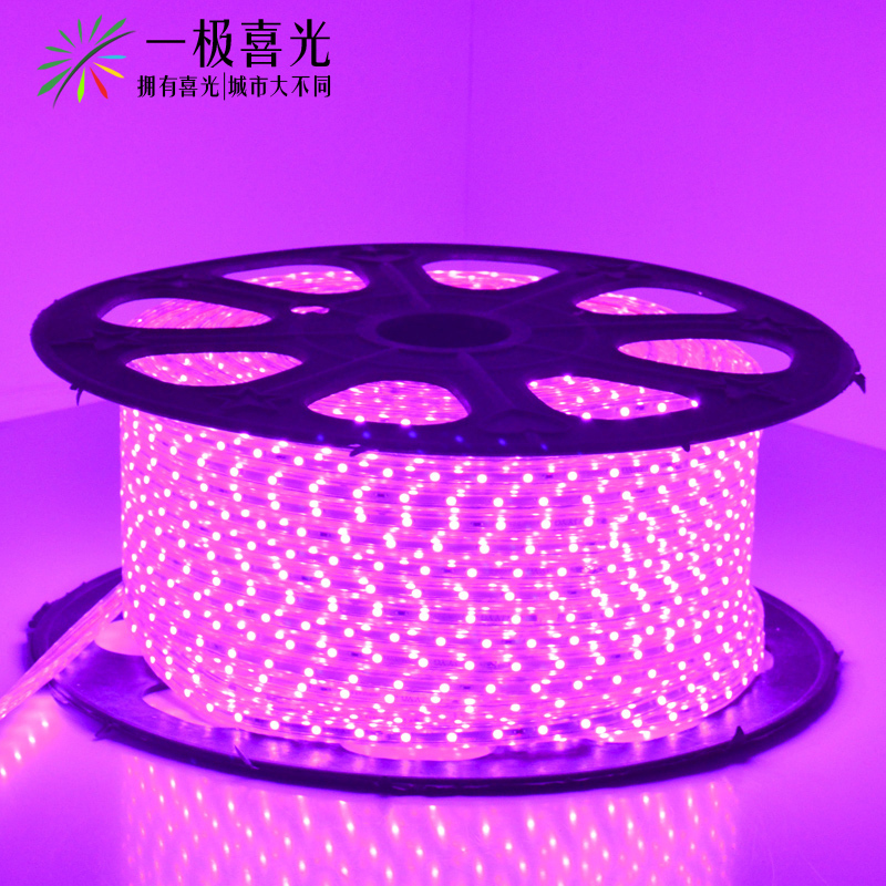 Hi light led lights with 3528 smd led lights with 220 v dark trough lights with purple atmosphere effect light background light bar