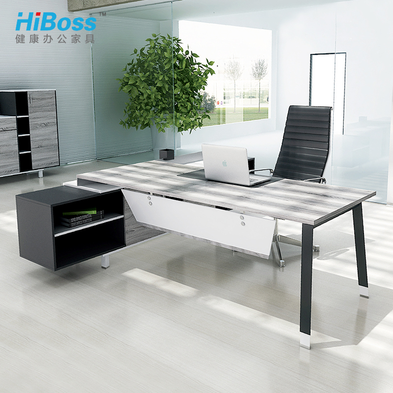 [Hiboss] modern office furniture fashion boss desk desk manager desk supervisor
