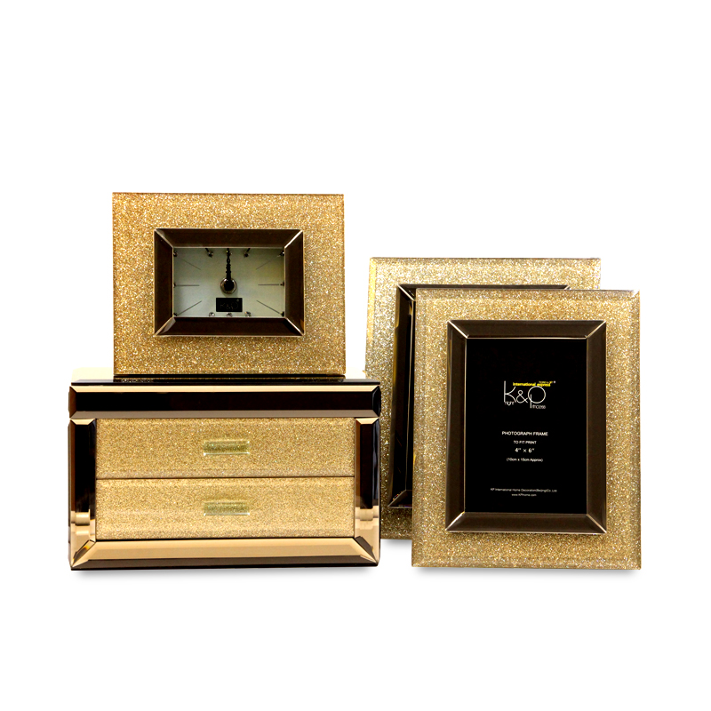 High end knight princess jewelry box jewelry storage box jewelry box 6 inch photo frame 7 7-inch photo frame picture frame swing sets