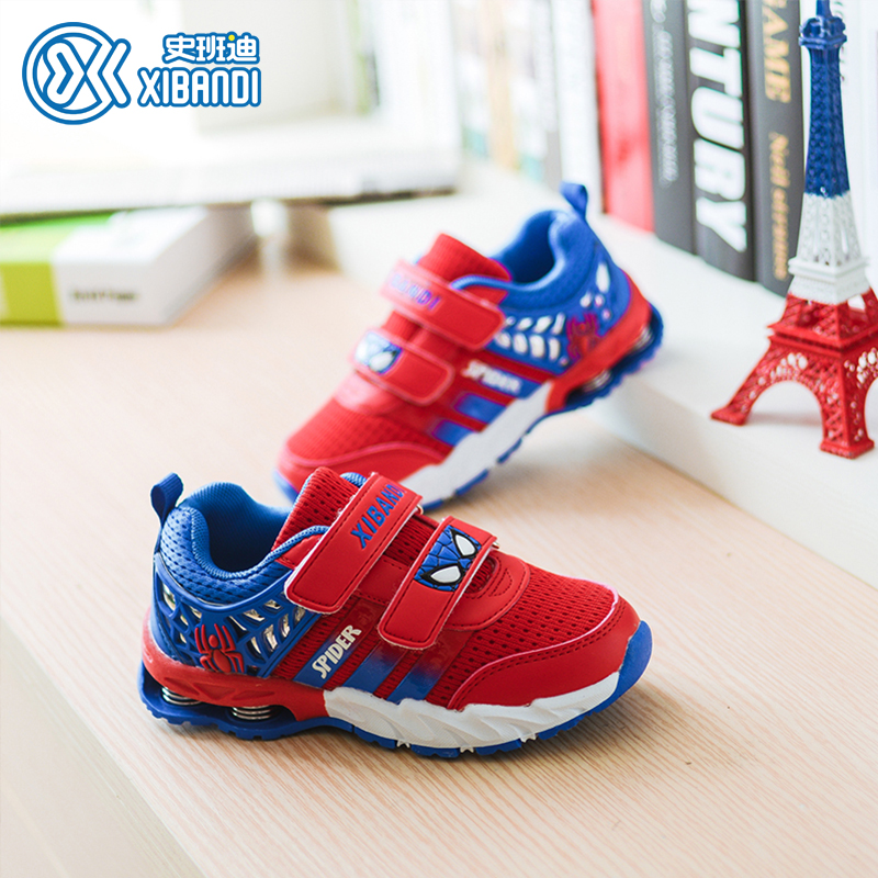 History bandi 2016 spring and autumn new shoes for children cartoon boys and girls leisure sports shoes spring shoes breathable mesh cloth shoes