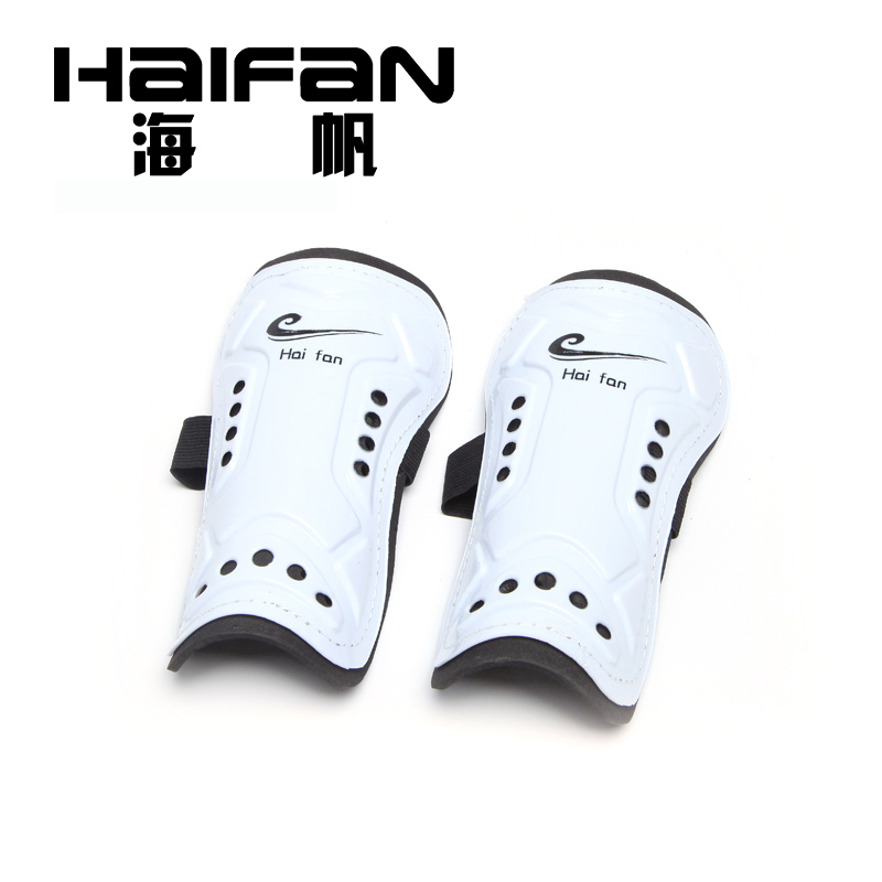 Hoi fan flapper soccer tournament training equipment professional football shin pads football pads protect leg plate tie plus breathable
