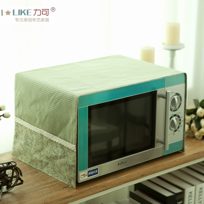 Home microwave oven refrigerator cover coffee table cloth cover cloth dust covers/coffee table cloth american country