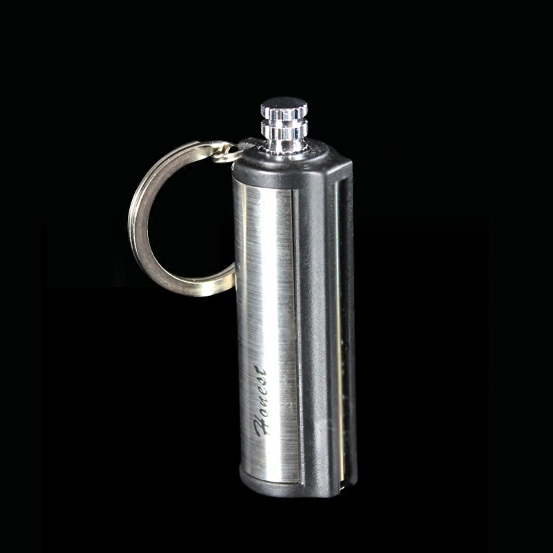 Honest million matches kerosene metal stainless steel waterproof windproof lighter creative personality shipping retro mini