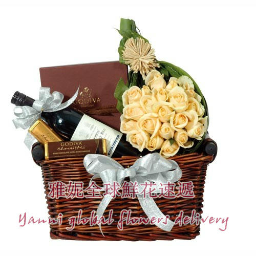 Hong kong christmas gift basket courier booking holiday business gift box christmas gift box Gift baskets nationwide courier beijing