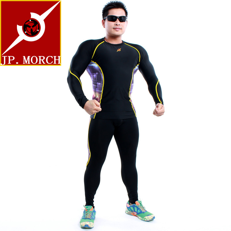 Hong kong jp. morch professional sports athletics marathon running tights pants compression pants baseball pants