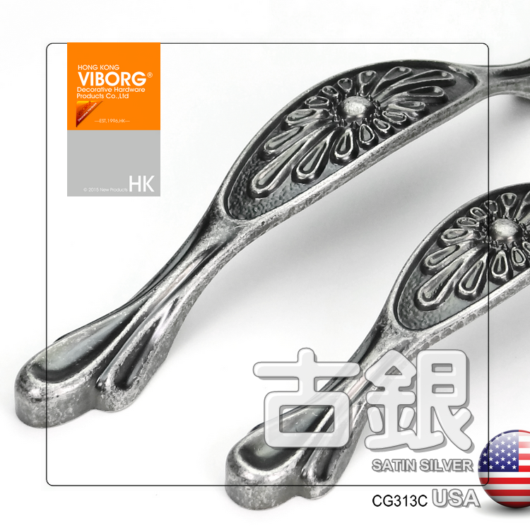 Hong kong yubao spend ancient american ikea furniture handle handle european cabinet handle drawer handles CG-313