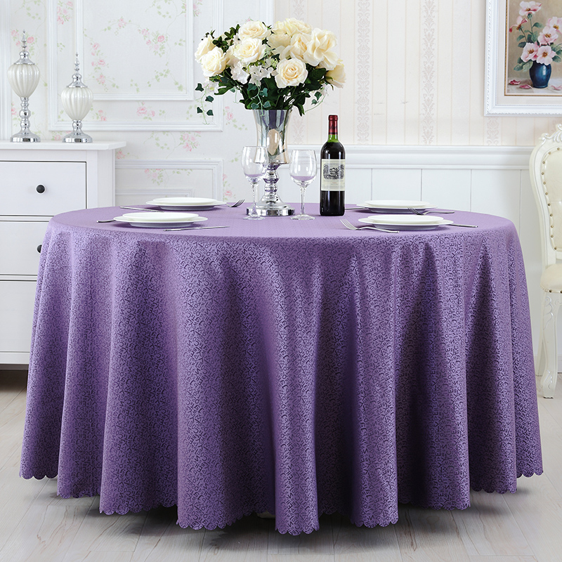 Hotel hotel restaurant wedding banquet tablecloth roundtable round tablecloth square table cloth table cloth tea table cloth