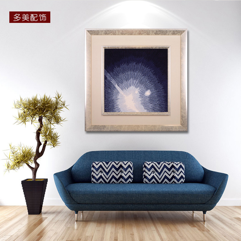 How beautiful paintings and creative combination of decorative painting the living room dining room modern sofa backdrop painting abstract mural paintings dimensional painting