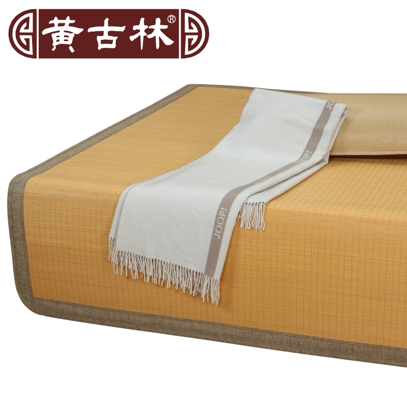 Huang ancient forest mats sided carbide text m bed bed seats in summer natural bamboo mat plus thick upscale boutique dual