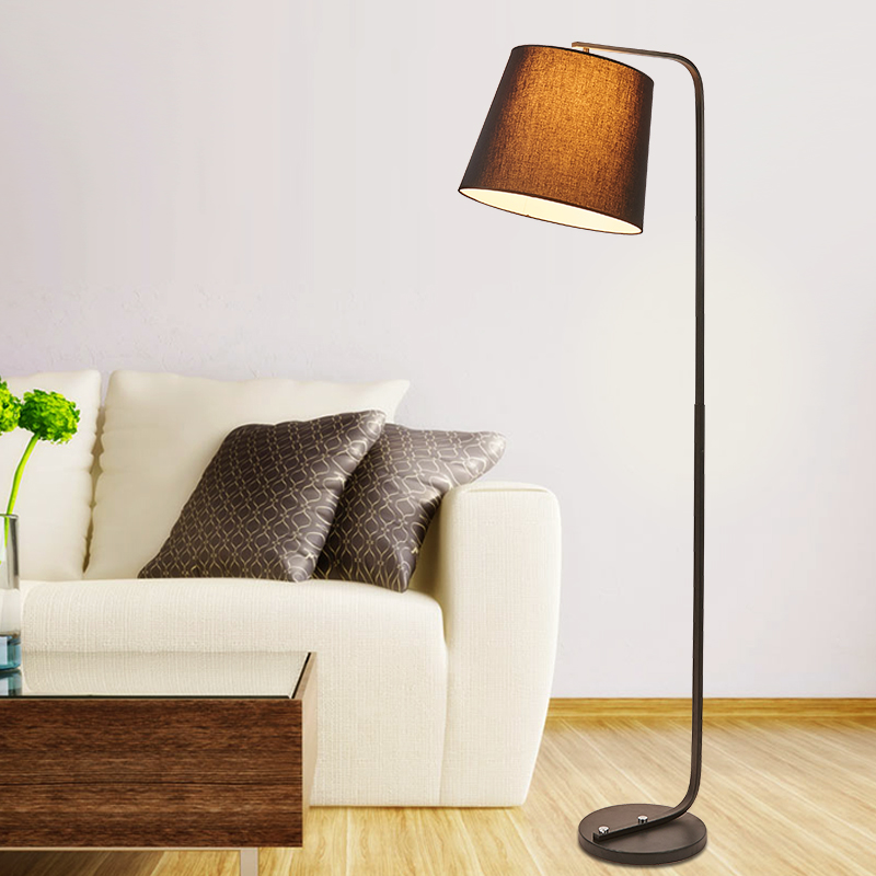 Huang generation nordic ikea creative modern minimalist living room floor lamp bedroom continental landed verticle lamps with lamp