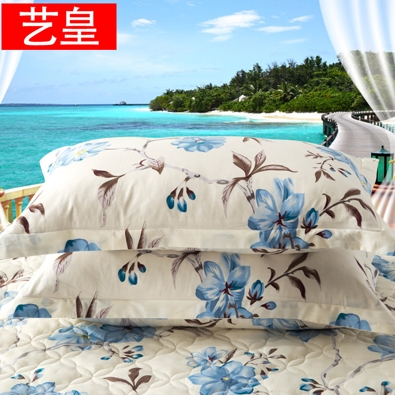 Huang yi cotton pillowcase pillowcases one pair of dress 48 * 74cm single adult students children cartoon cotton pillow pillowcase