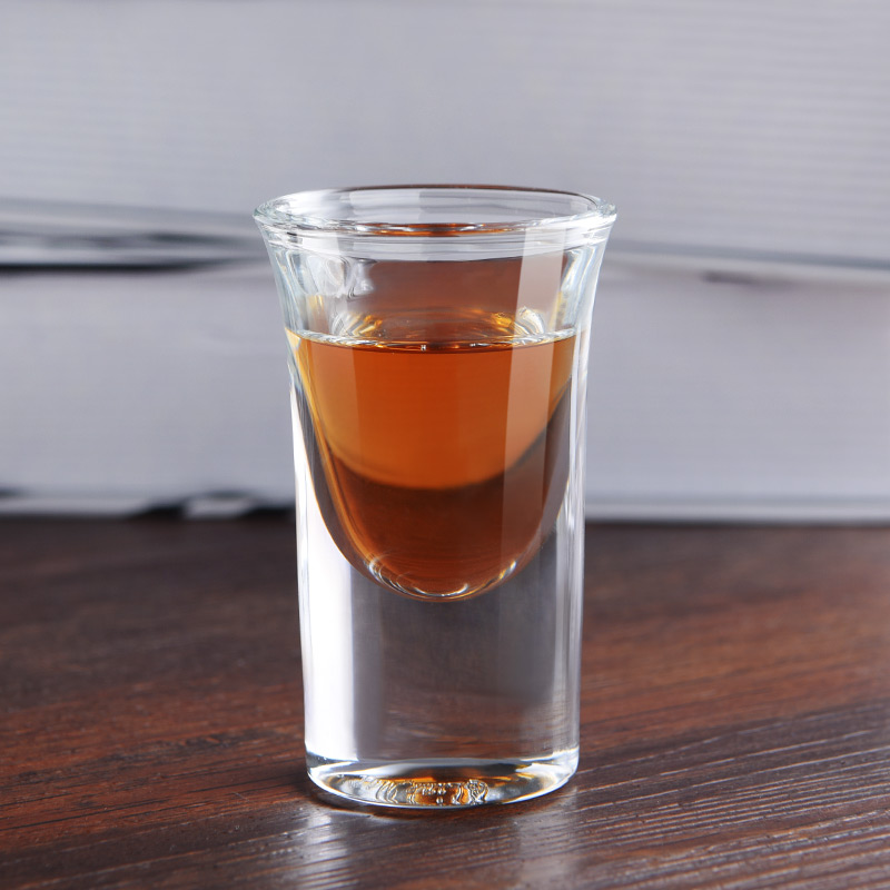 Huang ying vodka spirits swallow a cup spirits cup cup cup bullet bottomed swallow cup DX033